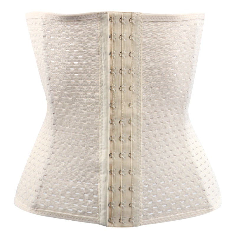 creationsg - Hot Body Shaper Waist Trainer Belt Steel Boned  Belly Slimming Underwear Shapewear