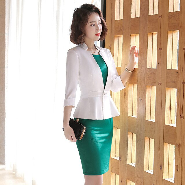 New Formal Ladies Suits With Dress Elegant Vestidos Creationsg