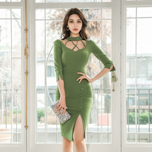 Evening Party Fashion Long Dress Ladies Dresses Clothing Creationsg
