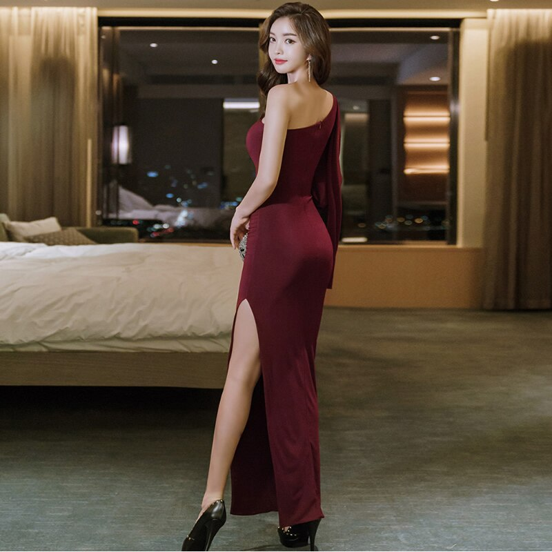 creationsg - Maxi Long Occasion Dress Women Sexy Bodycon Cloth