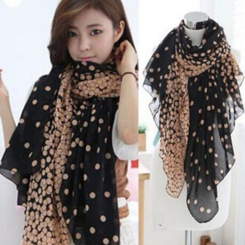 New Fashion Trendy Women's Long Print Scarf Creationsg