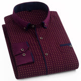 New spring and autumn men's long-sleeved shirt Four Seasons Business shirt Creationsg