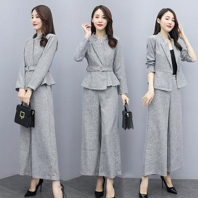 Office Lady 2 Piece Set Women Suits With Pants Woman Business Wear Blazer Set Creationsg