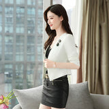 Short Female Blazer Black White Blazers and Jackets Creationsg