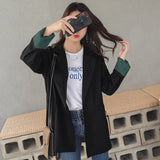 creationsg - Spring Women Blazers Jackets cotton Suit Jacket black Button Women Basic Jackets