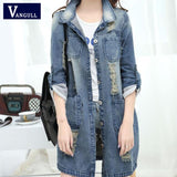 Vangull Women Denim Jacket Creationsg