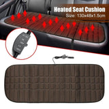 Heated Heating Seat Cushion Cover Pad 12V Car Auto Warmer Heater Creationsg