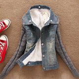 creationsg - Winter Women Jeans Coat Jacket