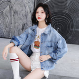creationsg - Denim Jacket Coat