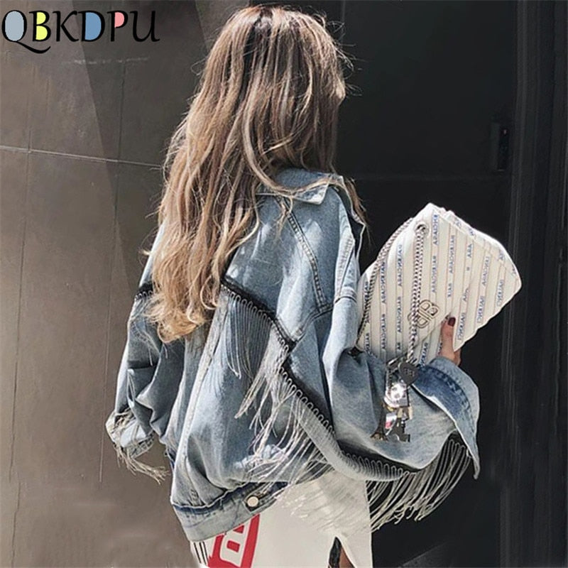 denim jacket women Fashion jacket Creationsg