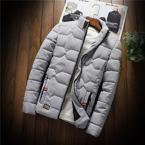 winter New Jacket fashion thickened warm cotton-padded Jacket Creationsg