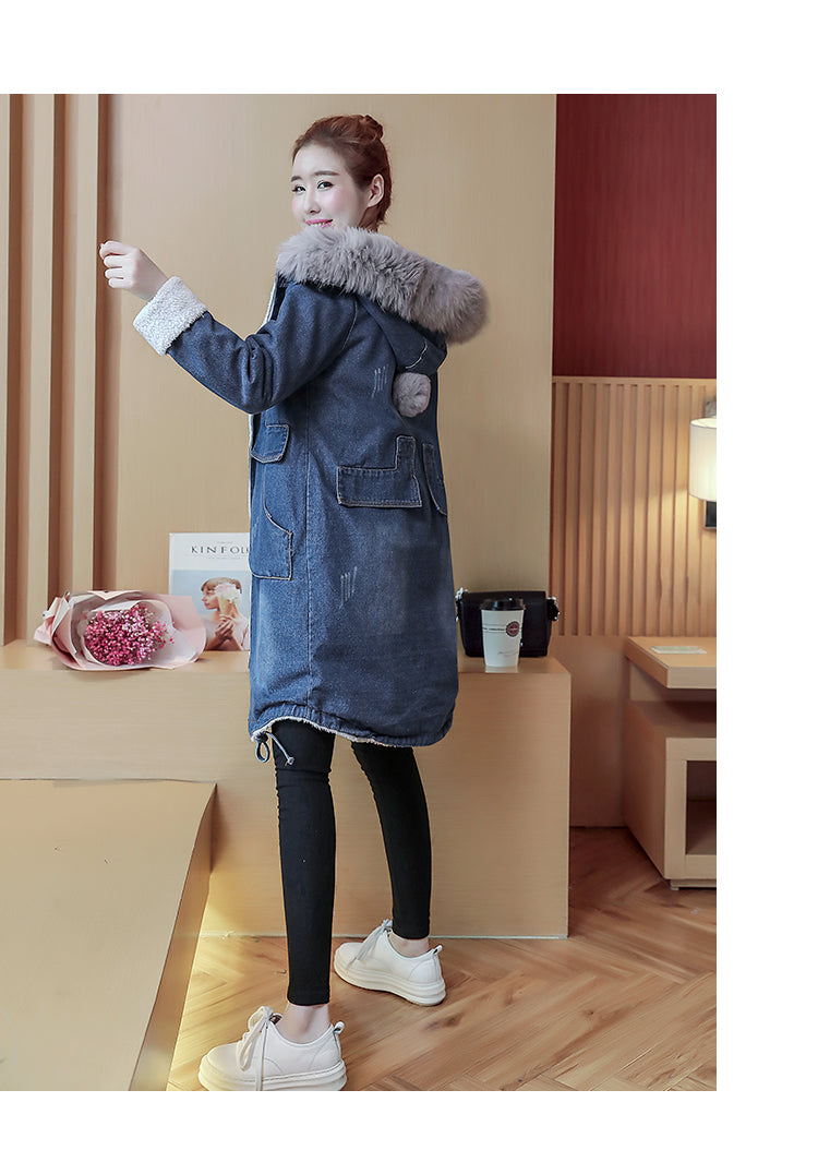 Hooded Coat Jeans Denim Jackets Creationsg