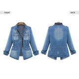 High Quality Denim Jackets Women Creationsg