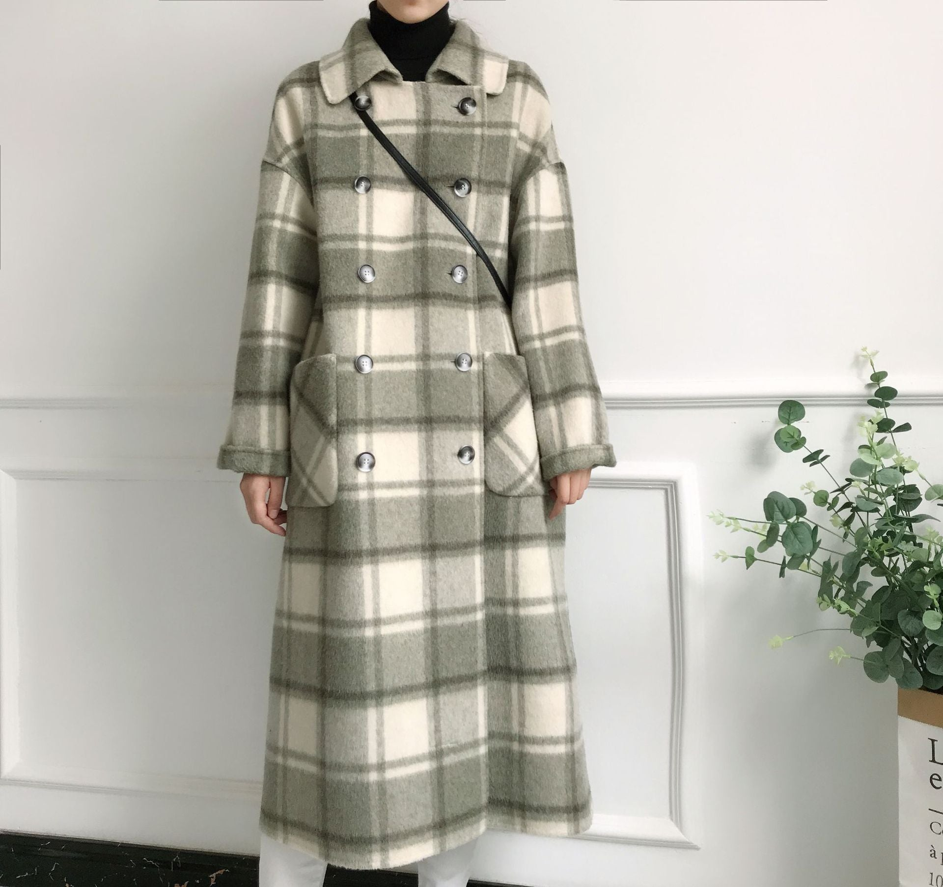 New 2018 Double-sided Cashmere Coat Women Winter coat Creationsg