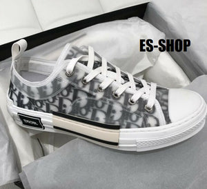 17d44cbf SS-19 DIOR LOW TOP OBLIQUE TECHNICAL CANVAS