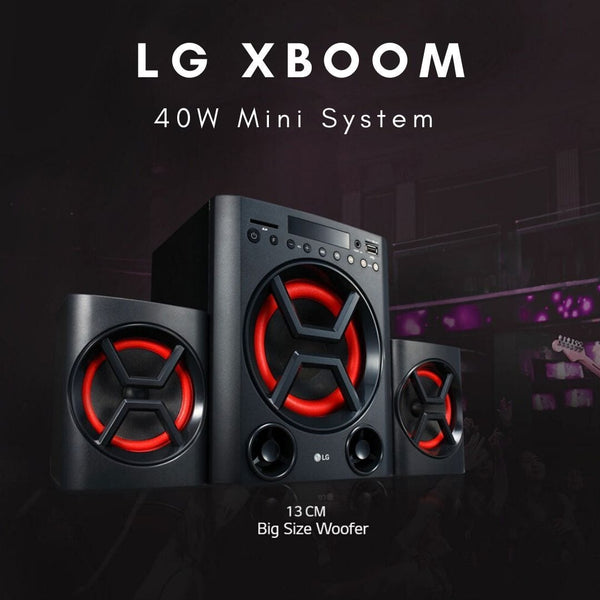 LG XBoom 40W Specifications and Price in Nigeria