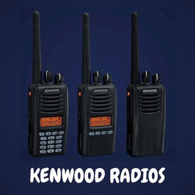 Kenwood Walkie Talkie Radio