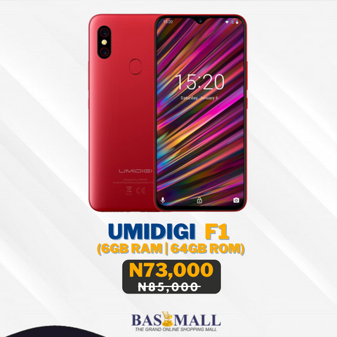 Umidigi F1 Specification & Price in  Nigeria
