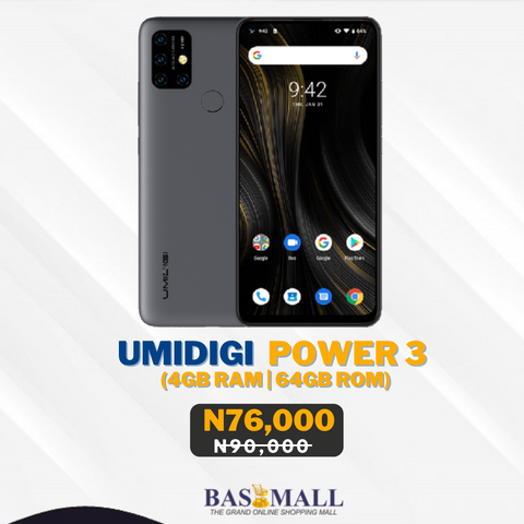 Umidigi Power 3 Specification & Price in Nigeria