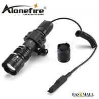 AloneFire TK104 CREE L2 LED Tactical Zoom Gun Flashlight Pistol Handgun Airsoft Torch Light Lamp for Outdoor hunting, self defense, Bas Mall, Bas Mall, [variant_title]