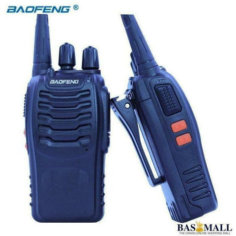2 PCS Baofeng Walkie Talkie BF 888S Portable Radio Transceiver UHF 400-470MHz CB Radios HAM 16 Channel FM Stereo Hunting Station, walkie talkie radios, Bas Mall, Bas Mall, [variant_title]