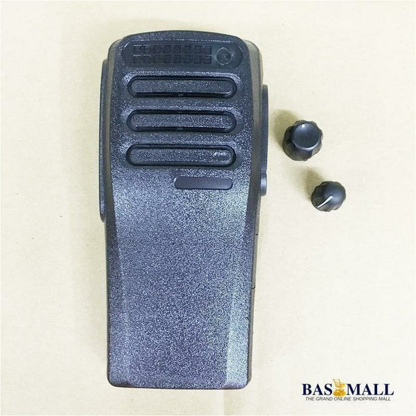 25pcs/lot Black Color housing shell front case with volume and channel knobs for motorola XIR P3688 DP1400 DEP450 walkie talkie - Bas Mall Nigeria