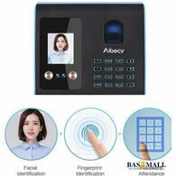 Aibecy Intelligent Attendance Machine Face Fingerprint Password Recognition