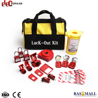 High Security Industrial Portable Safety Padlock Valve Lockout Tool Bag Kits, Padlock Valve, Basmall, Bas Mall, [variant_title]