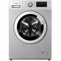 Hisense Front Load Washing Machine, 6 KG, Smart Control, Silver WM 6012S
