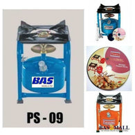 PS-09 Single Burner Wheel Pressure Stove - Bas Mall Nigeria