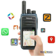Mobile phone with walkie talkie Wifi two way radio Android SIM GSM N58 bluetooth headset two way radio, walkie talkie radios, Bas Mall, Bas Mall, [variant_title]