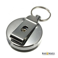 NEW 1 pcs High Quality Stainless Steel Tool Belt Money Retractable Key Chain Clip Key Finder Anti-lost Personal Security Safely, self defense, Bas Mall, Bas Mall, [variant_title]