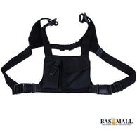 For Baofeng Radio Chest Harness Chest Front Pack Pouch Holster Vest Rig Carry Cade for Baofeng TYT Wouxun Motorola Walkie Talkie, walkie talkie radios, Bas Mall, Bas Mall, [variant_title]