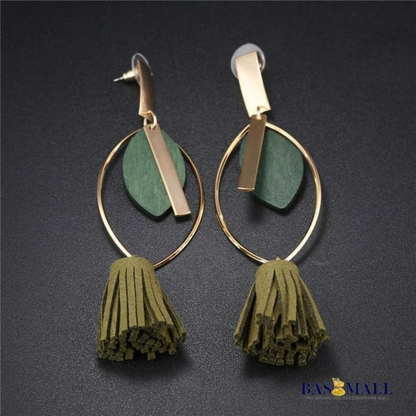 Long Tassel Drop Earrings - Bas Mall Nigeria