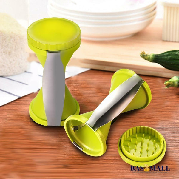 Handheld Spiral Slicer Vegetable Potato Fruit Cutter Funnel Shape Grater Twister Peeler Kitchen Tool, kitchen acceorie, Bas Mall, Bas Mall, Default Title