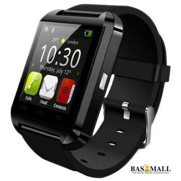 Original Bluetooth Wrist Watch U8 Smartwatch U Watch For iOS iPhone and Android Phones Good as GT08 with Altimeter, Wrist Watches, Bas Mall, Bas Mall, black no box