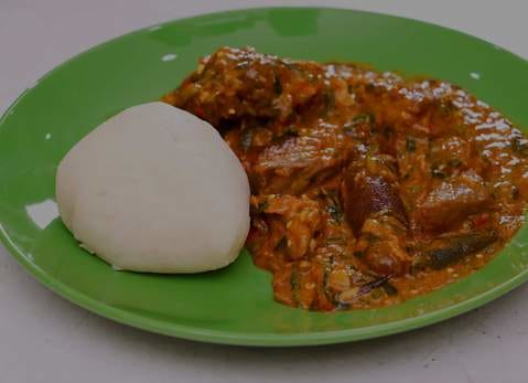 Pounded Yam in Nigeria