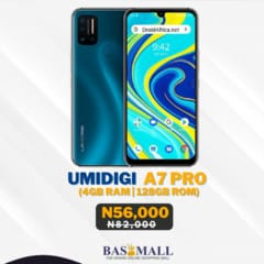 Umidigi A7 pro Specifications and Price in Nigeria