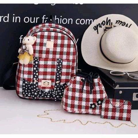 Three piece women bag