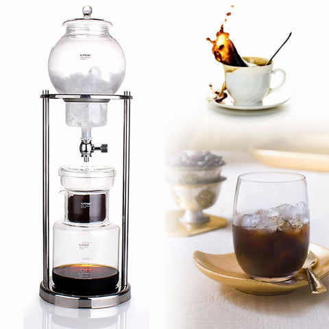 6 cup Dutch cold drip coffee tower