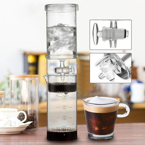 4 cup glass cold drip dutch brew