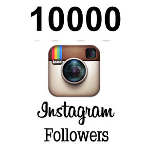 10000 Real Instagram followers