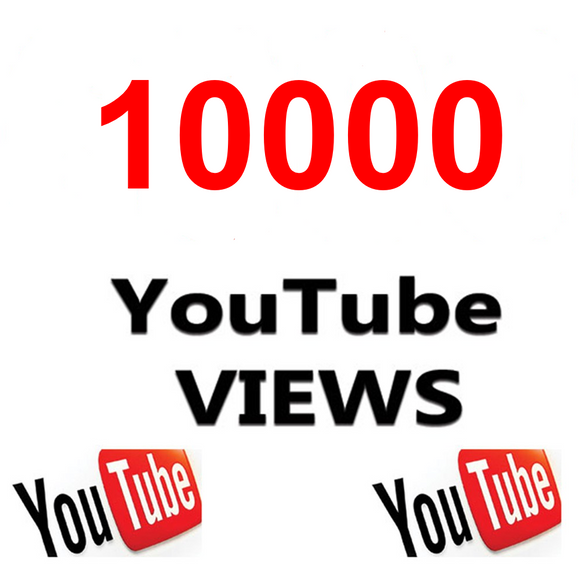 10000 YouTube views
