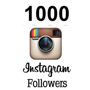 1000 Real Instagram followers
