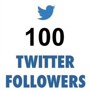100 ULTRA HIGH QUALITY Twitter Followers (REAL)