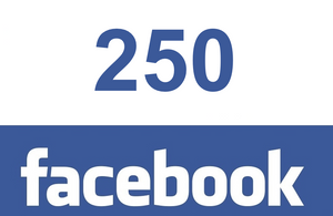 250 Facebook post likes