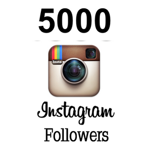 5000 Real Instagram followers