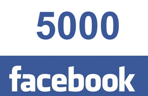 5000 Facebook post likes