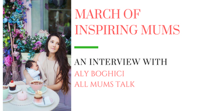 March of Inspiring Mums - Aly Boghici