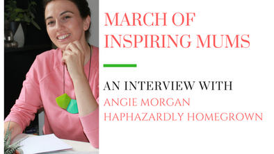 March of Inspiring Mums - Angie Morgan